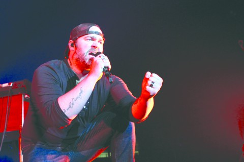 Lee Brice, The Cadillac Three, and Chase Bryant perform at ULM's Fant-Ewing Coliseum during 2015 Spring Fever Week.  Sorry, due to contractual agreements with the artists, these photos are not for sale. Photos by Emerald Harris/ULM Photo Services University of Louisiana at Monroe