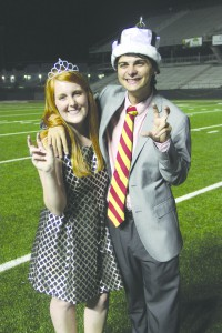 Lauren Norton and Bryson Belaire embrace Ace and their newfound royalty.